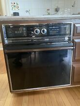 VINTAGE GE General Electric 24  ELECTRIC WALL OVEN RARE RETRO BOHO 1970 1980