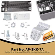 SKK 7A   8A Stacking Kit For All Samsung 27  Wide Washer Dryer Front Load Laundr