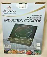 Duxtop 8100MC 1800W Portable Induction Countertop Cooktop   Excellent  Tested A