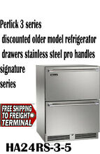 Perlick Signature Series HP24RS35 24 Inch stainless Undercounter Refrigerator