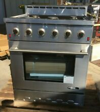 NXR NK3011 Entree 30  4 5 cu  ft  Professional Style Gas Range w Convection Oven
