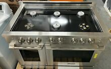 Dacor Professional HGPR48SNG 48  Freestanding Gas Range  stainless steel