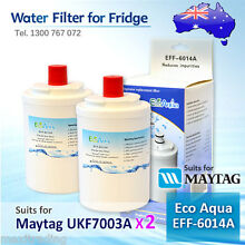2xECO AQUA EFF 6014A REPLACEMENT FOR Amana Maytag UKF7003AXX Fridge Water Filter