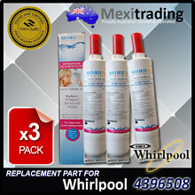 3x Whirlpool  4396508 Replacement  Water  Ice make  Filter