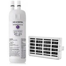 Whirlpool Fridge Water Filter W10295370  1pack Air Filter W10311524  1pack  SET