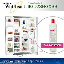 WHIRLPOOL  FRIDGE FILTER  FOR  6GD2SHGXSS FRIDGE  4396508 ORIGINAL PART