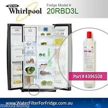WHIRLPOOL FRIDGE WATER FILTER FOR 20RBD3L FRIDGE MODEL 4396508 ORIGINAL PART