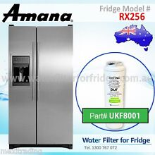 AMANA FRIDGE MODEL RX256 GENUINE MAYTAG WATER FILTERS UKF8001