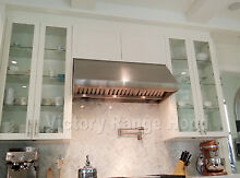 HEAVY DUTY RANGE HOOD  BBQ HOOD  48  WITH MECHANICAL  ROTARY SWITCHES