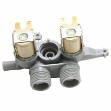 Genuine WH13X10037 GE Washer Valve Triple Water