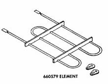 Genuine 660579 Whirlpool Wall Oven Broil Element