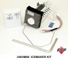 Genuine UNVIM98 Whirlpool Refrigerator Universal Ice Maker Kit
