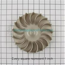 WE16X29 GE Dryer Blower Wheel