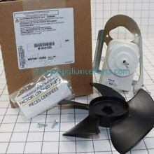 W10181323  Whirlpool Refrigerator Condenser Fan Motor Kit Assembly