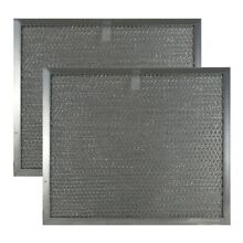 2 Pack COMPATIBLE WITH BROAN NUTONE S97007894 ALUMINUM MESH GREASE HOOD FILTERS