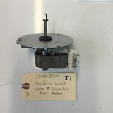 1399803  New  Frigidaire Wall Oven Convection Fan Motor  60 Day Warranty