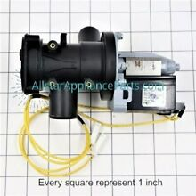 GE WH23X10011 Washing Machine Drain Pump