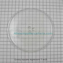 8172138 OEM Whirlpool Microwave Turntable Glass Plate Tray