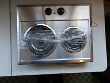 General electric J P201CB1SS Household Electric 2 Burner Stovetop Range