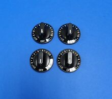 JennAir Whirlpool 12200035 4 Pack Range Knobs  4 each of W10116766  NEW OEM
