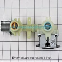 GE Washing Machine Water Inlet Valve WH13X10015