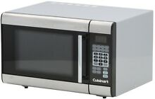 Microwave Oven Cuisinart 1 0 cu ft Countertop Stainless Steel Appliance 1000 W