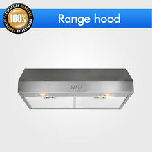 Steel Kitchen 30 Stainless Fan Control Range Hood Vent Under Cabinet Stove Panel