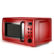 Hamilton Beach 0 7 cu ft Microwave Oven Countertop Kitchen Digital 700 Watts Red