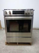 BOSCH 800 Series 30  Slide in Gas Range Stainless HGI8054UC Descriptive Images