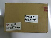 NEW GE DISHWASHER DRAIN PUMP WD26X10023 SEALED IN BOX FREE SHIPPING