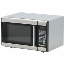 Microwave Oven  1 0 cu  ft  1000 Watts Stainless Steel Countertop Microwave Oven