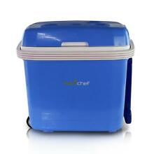 NutriChef Electric Cooler   Warmer Mini Fridge W  Thermo Heating Ability 30  Ltr
