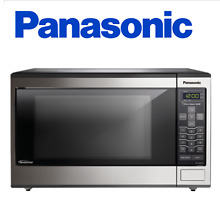 Panasonic NN SN643S Stainless 1 2 Cu  Ft  Countertop Built In Microwave Oven w