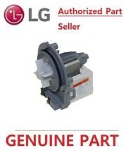 GENUINE  LG FRONT LOAD WASHING MACHINE MOTOR ASSEMBLY PUMP  EAU61383505