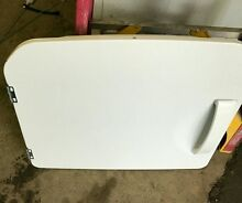 GE Stacked OEM Dryer Door Assembly WE10M151