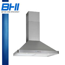 30  Stainless Steel Wall Mount Electronic Switch Range Hood Stove Kitchen Panel