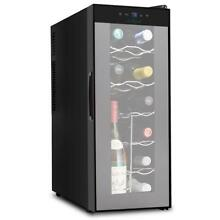 PKTEWC120 Electric Wine Cooler   Wine Chilling Refrigerator Cellar  12 Bottle