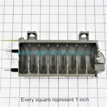 Whirlpool W10190929 ice maker replacement ice cube mold and heater assembly