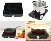 Portable Electric Stove Burner Induction Cooktop Hot Plate Countertop 1800 Watt