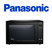 Panasonic NN H965BF 2 2 Cu  Ft  Countertop Microwave Oven with Inverter Tech