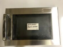NEW SHARP MICROWAVE DOOR STAINLESS CDORFB029WRKZ FREE SHIP