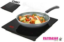 NEW Portable Countertop Burner Electric Induction Cooktop Touch Cookware Kitchen