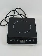 Portable Induction Cooktop Electric Countertop Plate Burner 1800W Cooker Kitchen