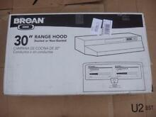 Broan 433004 Series 30 in  Convertible Range Hood Stainless Steel Under Cabinet