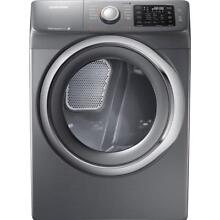 Samsung 27  Platinum Electric Front Load Steam Dryer 7 5 Cu  Ft  DV42H5200EP A3