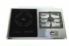 True Induction Built in RV Stove with Gas Burner and Induction Cooktop