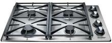 Dacor Renaissance 30 Inch 4 Sealed Burners Liquid Propane Gas Cooktop RGC304SLP