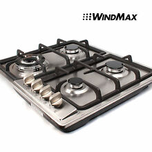 23inch Stainless Steel 4 Burners Gas Hob Cooktops NG LPG Built in Cooker