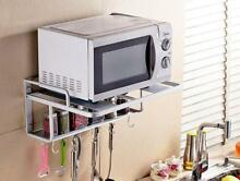 New Aluminimum Microwave Oven Wall Mount Shelf With Removable