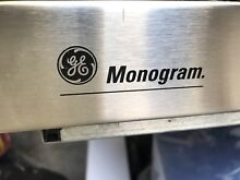 GE Monogram Blower and Telescoping DOWNDRAFT VENT SYSTEM ZVB36